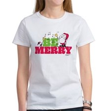 Snoopy: Be Merry Tee