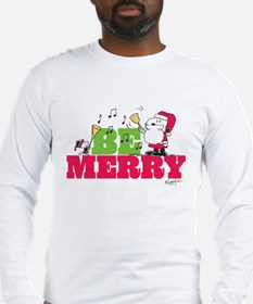 Snoopy: Be Merry Long Sleeve T-Shirt