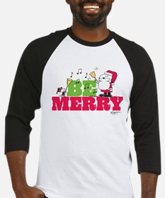 Snoopy: Be Merry Baseball Jersey