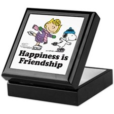 Happiness is Friendship Keepsake Box