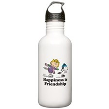 Happiness is Friendshi Water Bottle