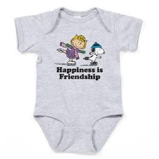 Happiness is Friendship Baby Bodysuit