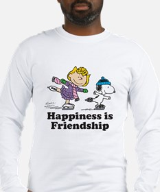 Happiness is Friendship Long Sleeve T-Shirt