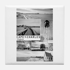 Cape Charles. Tile Coaster