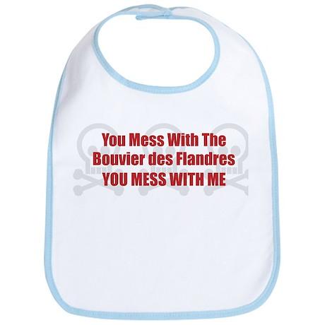 Mess With Bouvier Bib