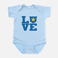 Love Law Enforcement Infant Bodysuit