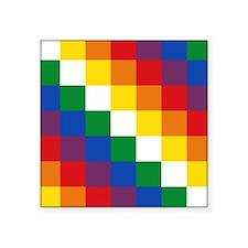 "Cute Bolivia Square Sticker 3"" x 3"""