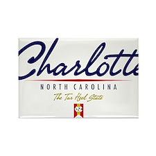 Charlotte Script W Magnets