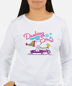 Snoopy and Woodstock D T-Shirt
