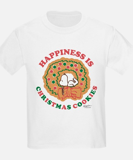 Snoopy:Hapiness is Christmas Co T-Shirt