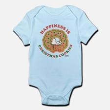 Snoopy:Hapiness is Christmas Cooki Infant Bodysuit