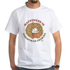 Snoopy:Hapiness is Christmas Cookies Shirt