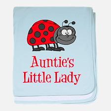 Auntie's Little Lady baby blanket