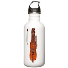 Nyckelharpa Swedish Mu Water Bottle