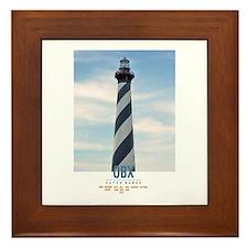 Cape Hatteras. Framed Tile