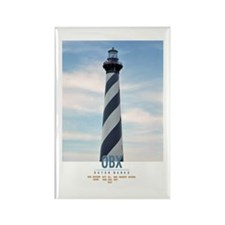 Cape Hatteras. Rectangle Magnet