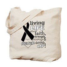 Skin Cancer Courage Tote Bag