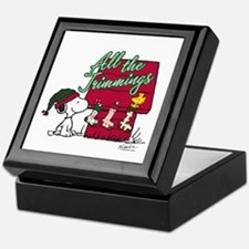 Snoopy: All the Trimmings Keepsake Box