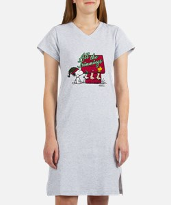 Snoopy: All the Trimmings Women's Nightshirt