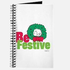 Snoopy: Be Festive Journal