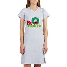 Snoopy: Be Festive Women's Nightshirt
