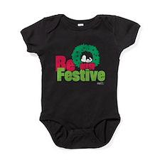 Snoopy: Be Festive Baby Bodysuit