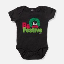 Snoopy: Be Festive Baby Bodysuit