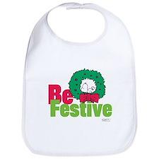 Snoopy: Be Festive Bib