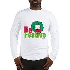 Snoopy: Be Festive Long Sleeve T-Shirt