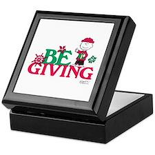 Charlie Brown: Be Giving Keepsake Box