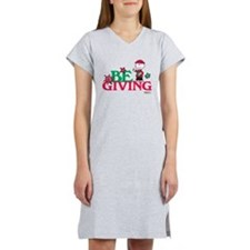Charlie Brown: Be Giving Women's Nightshirt