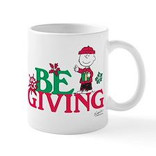 Charlie Brown: Be Giving Mug