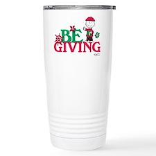 Charlie Brown: Be Givin Travel Mug