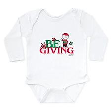 Charlie Brown: Be Givi Long Sleeve Infant Bodysuit