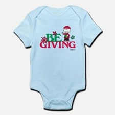 Charlie Brown: Be Giving Infant Bodysuit