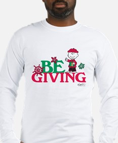 Charlie Brown: Be Giving Long Sleeve T-Shirt
