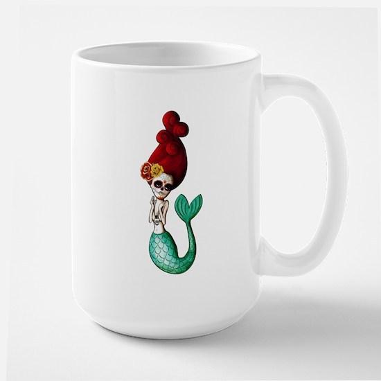 El Dia de Los Muertos Mermaid Mugs
