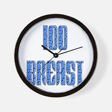100 Breast Wall Clock