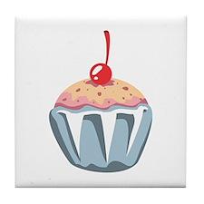 Cupcake Dessert Food Tile Coaster
