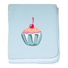 Cupcake Dessert Food baby blanket