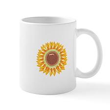 Sunflower Flower Floral Mugs