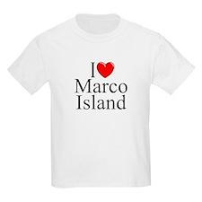 """I Love Marco Island"" T-Shirt"