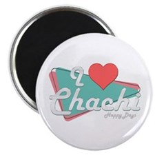 """I Heart Chachi 2.25"""" Magnet (10 pack)"""