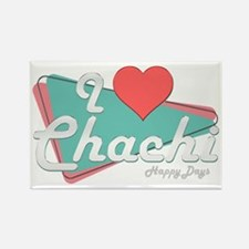 I Heart Chachi Rectangle Magnet