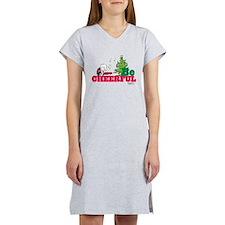 The Peanuts: Be Cheerful Women's Nightshirt