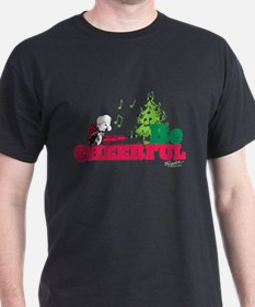 The Peanuts: Be Cheerful T-Shirt