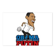 Obama Can't Stop Putin Po Postcards (Package of 8)