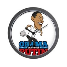 Obama Can't Stop Putin Pooting Farting Wall Clock