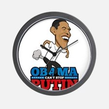 Obama Can't Stop Putin Pooting Farting Wall Clock