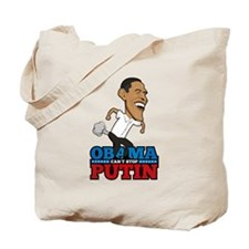 Obama Can't Stop Putin Pooting Farting Tote Bag